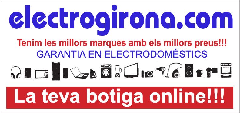 """""""electrogirona.com"""", nou espònsor de l'AD Guíxols."""