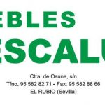 MUEBLES ESCALU
