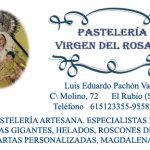 PASTELERIA VIRGEN DEL ROSARIO C/ MOLINO 72  EL RUBIO (SEVILLA)